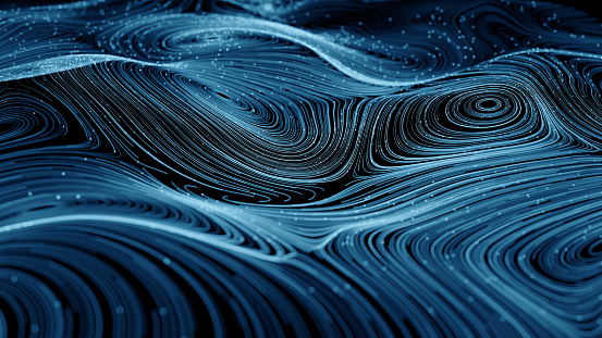 istock Abstract  network  background 836272842