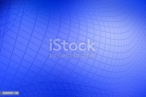 istock Abstract network background 936995106