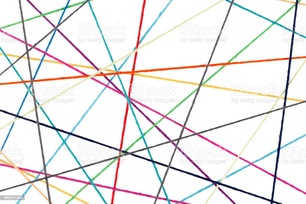 Abstract network concept stock photo