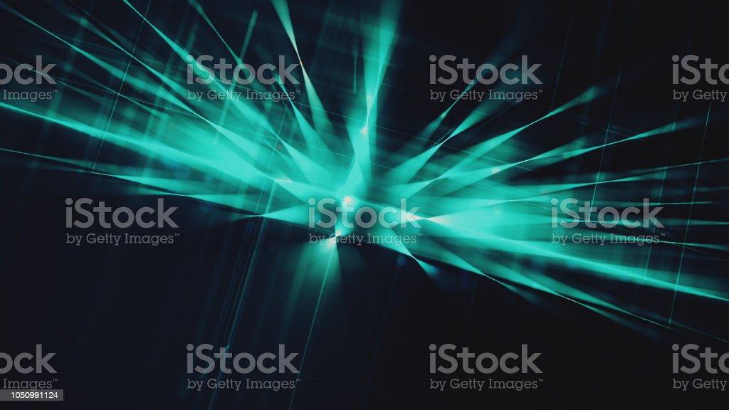 Abstrato fundo de conexão de rede  - foto de acervo