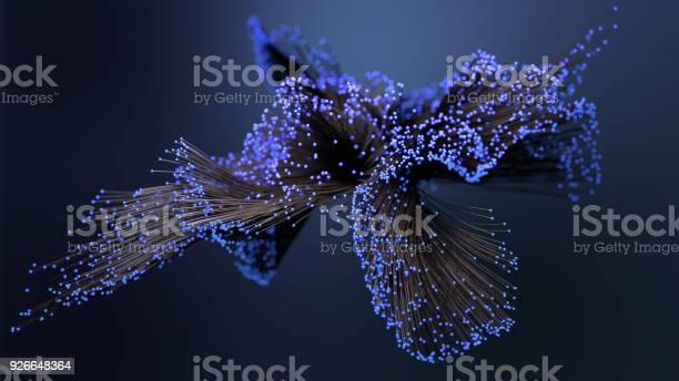 Photo of Abstract network connection background