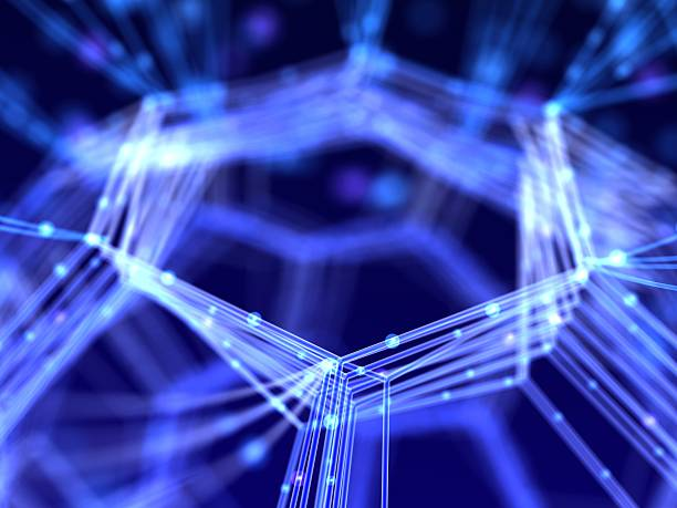 抽象的なネットワーク ストックフォト