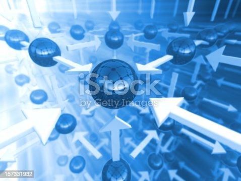 157434064istockphoto Abstract network 157331932