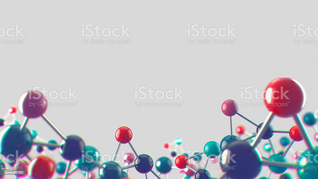 Abstract noisy medical and biology background stock photo