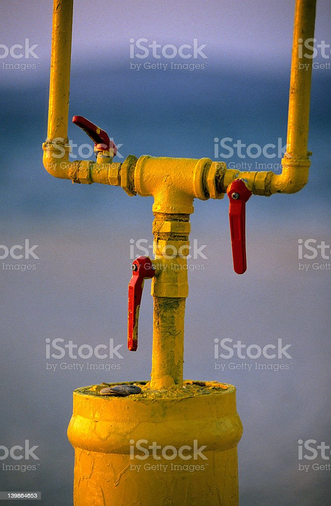 Abstract Object with Lever royalty-free stock photo