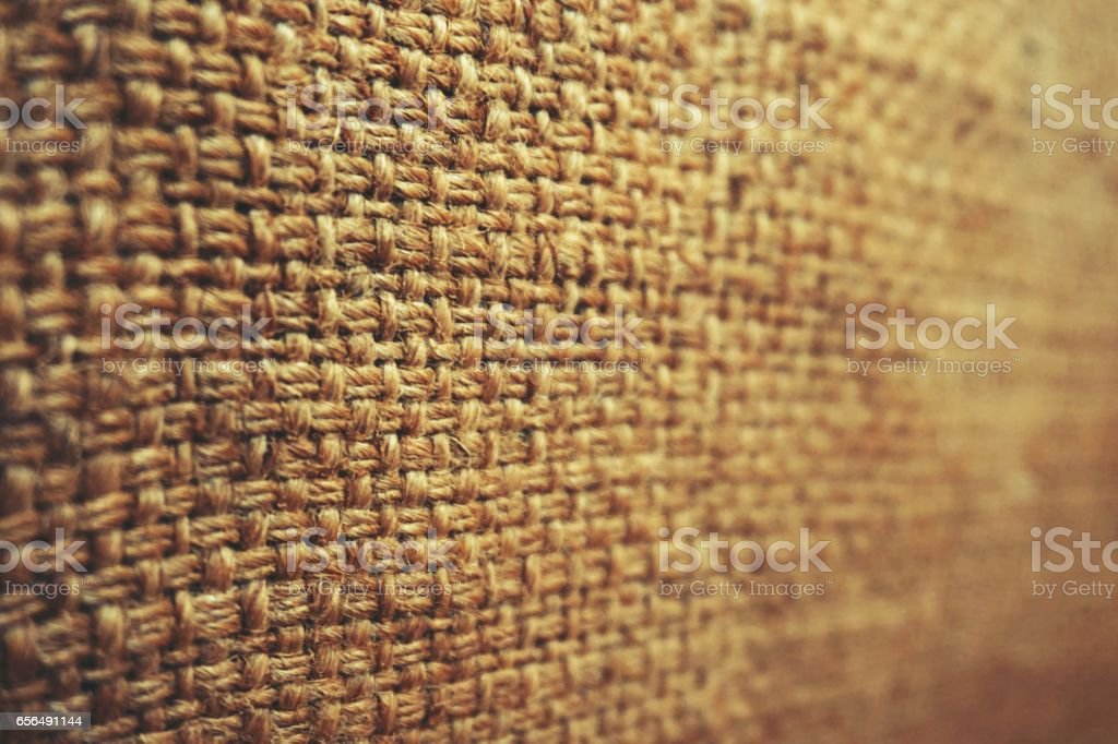 abstract of burlap texture stock photo
