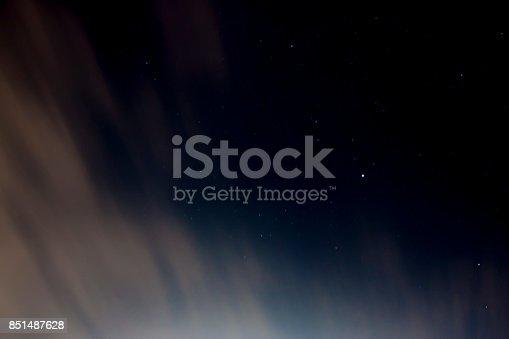 istock Abstract of dark sky 851487628