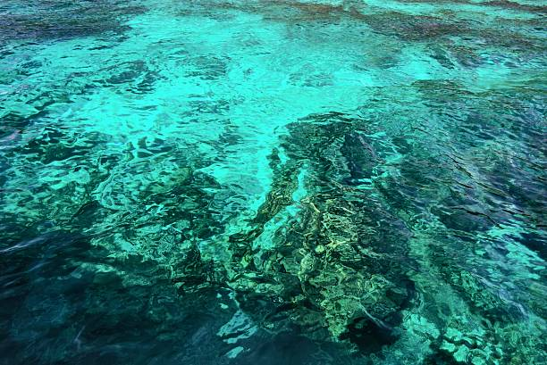 Abstract of sea surface stock photo