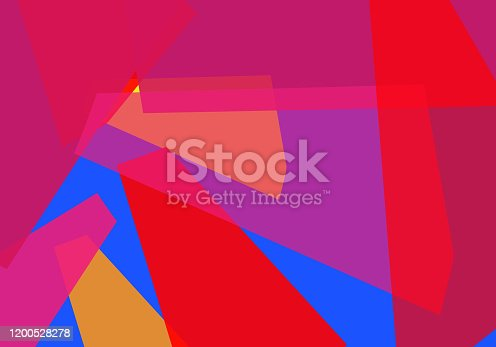 istock Abstract of shapes and layers, Cubism. Multi-layered squares with multicolored and lines texture. Dream, shadow, silhouette, imagination. For unique work, arts subject, inside or unspeakable concepts. 1200528278