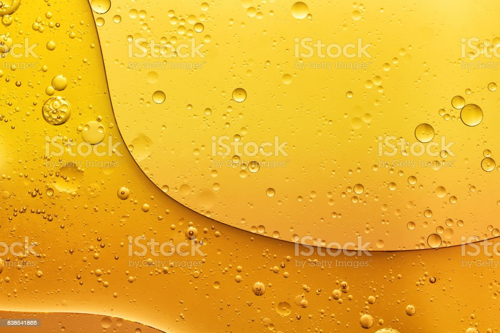 abstract oil bubble texture, pattern, background stock photo