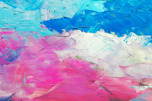 523169768 istock photo abstract oil paint texture on canvas, background 523169768