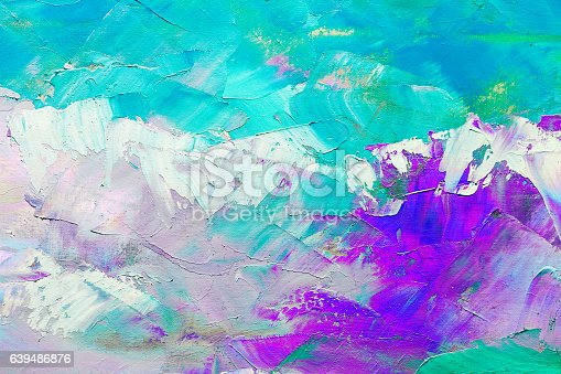 istock abstract oil paint texture on canvas, background 639486876