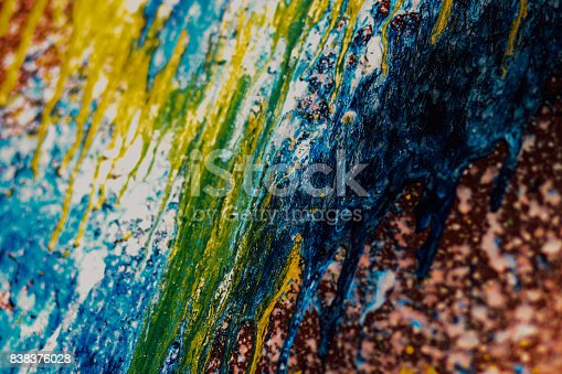 523169768istockphoto Abstract oil paint texture on canvas, background 838376028