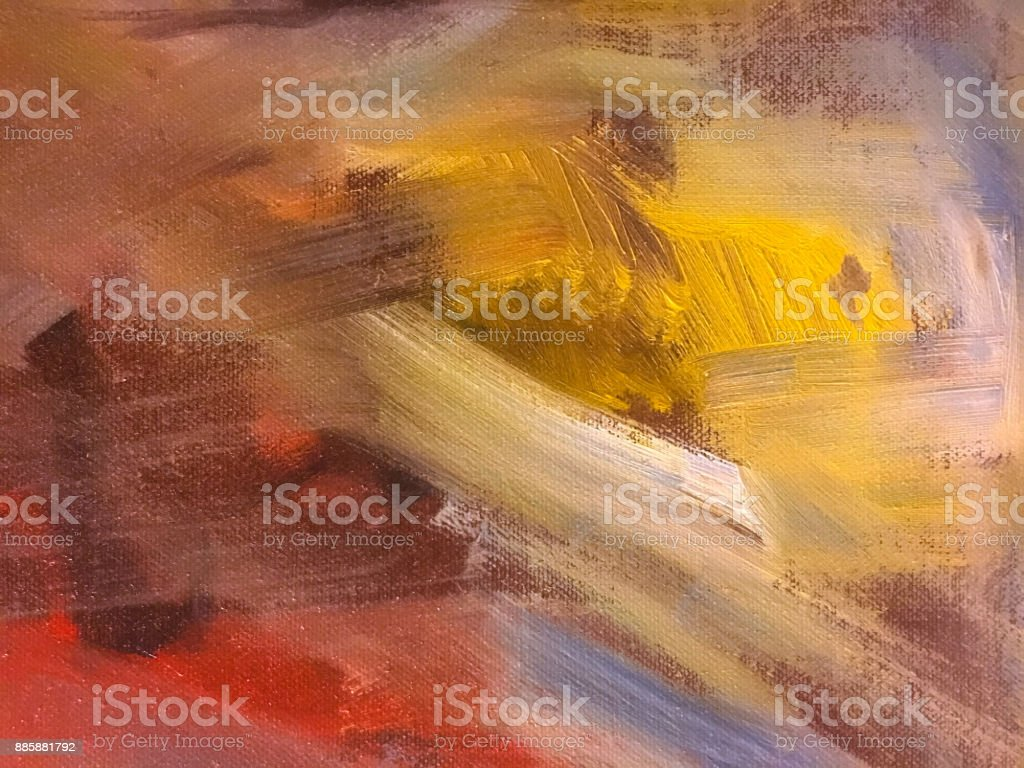 abstract oil paint texture on canvas, background. stock photo