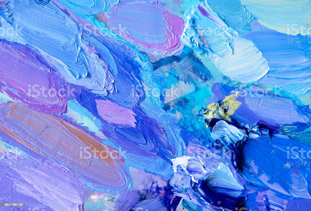 abstract oil paint texture on canvas, background royalty-free stock photo