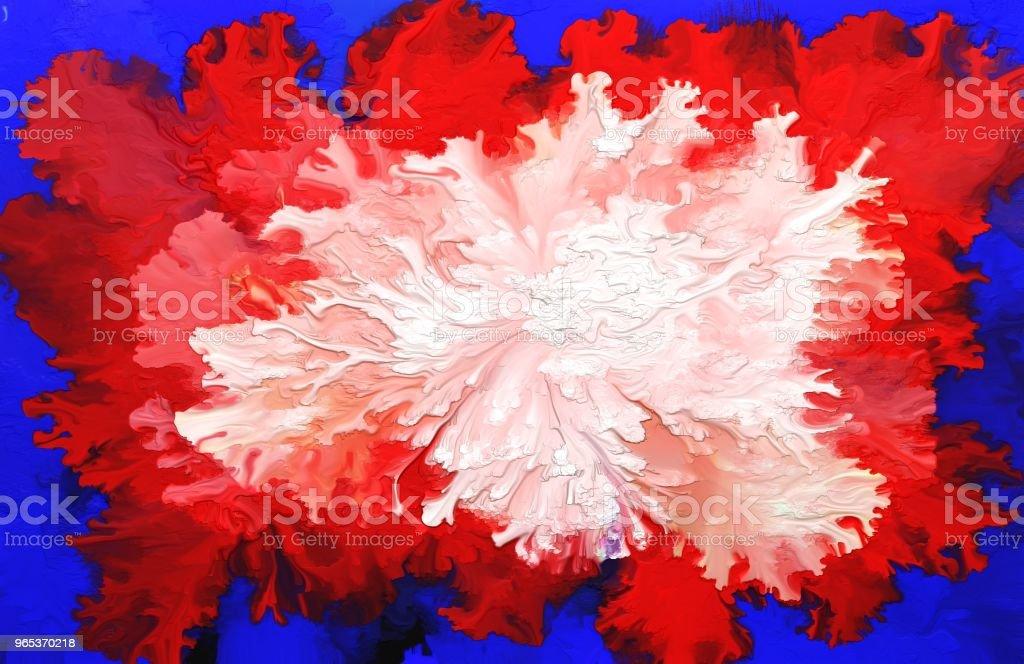 Abstract oil painting background. Colorful digital illustration. zbiór zdjęć royalty-free