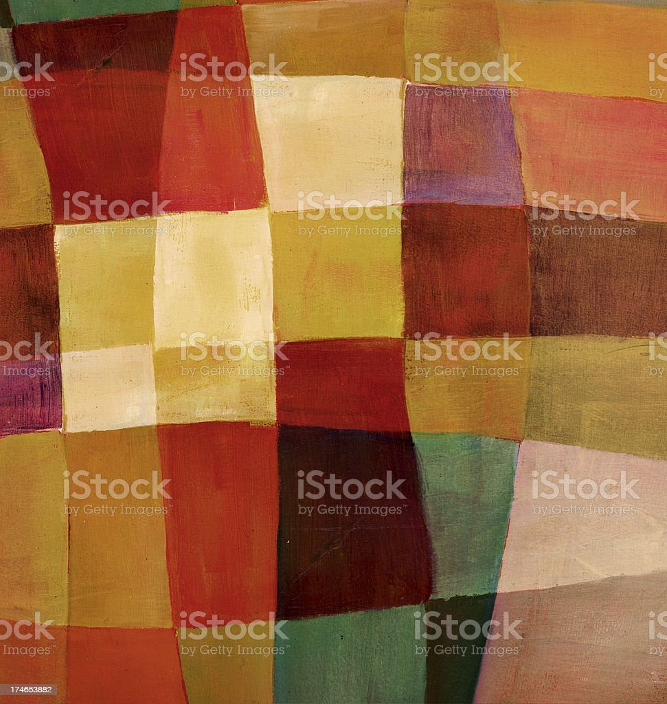 Abstract Oil Painting royalty-free stock photo