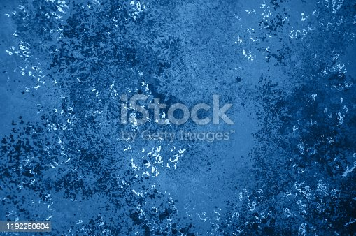 istock Abstract old vintage blue colored background. 1192250604