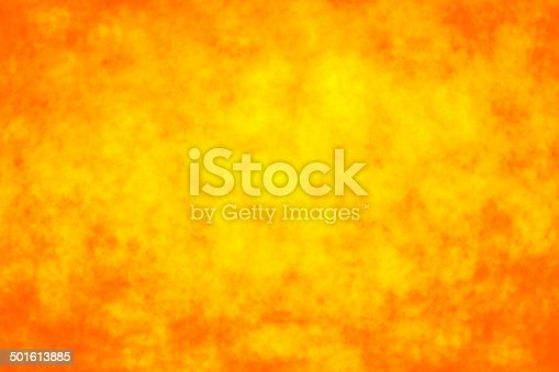 Abstract orange yellow fire bokeh background