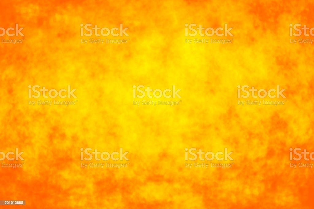 Abstract orange fire bokeh background stock photo