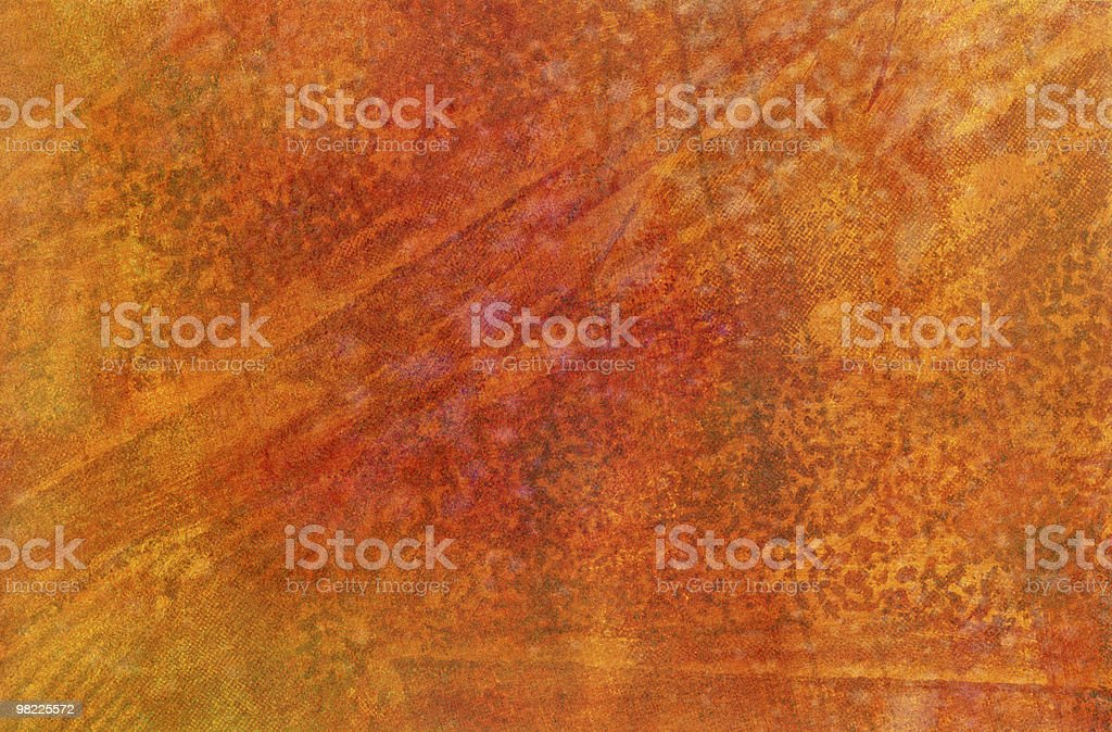 Abstract Orange Grunge Background royalty-free stock photo