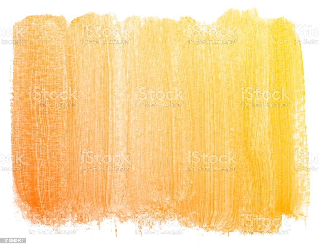 Abstract orange watercolor background. stock photo