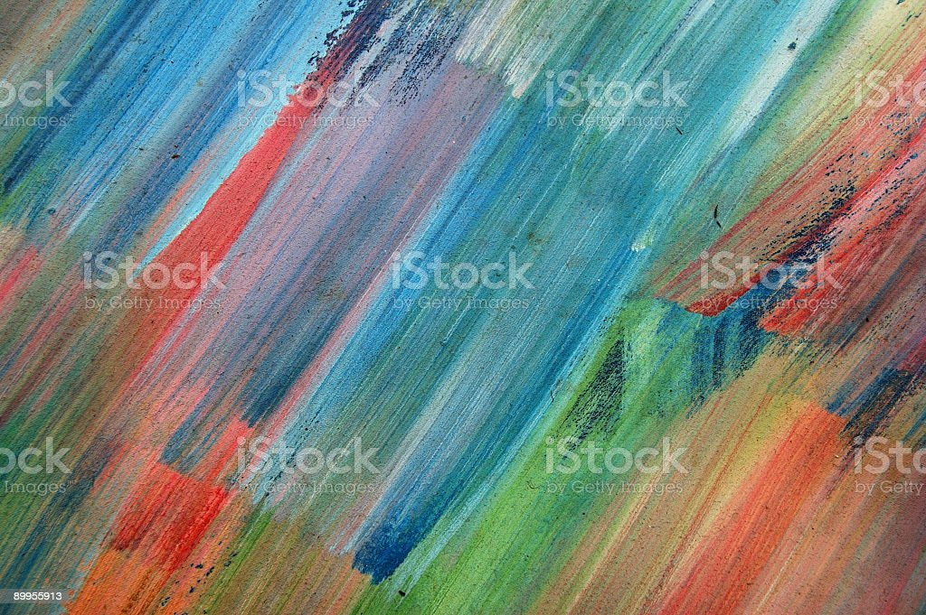 Abstract paint royalty-free stock photo
