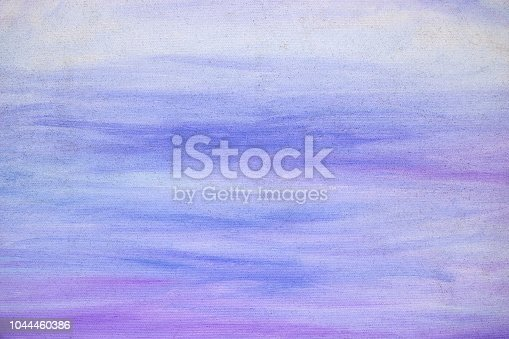 istock Abstract paint texture on canvas, background 1044460386