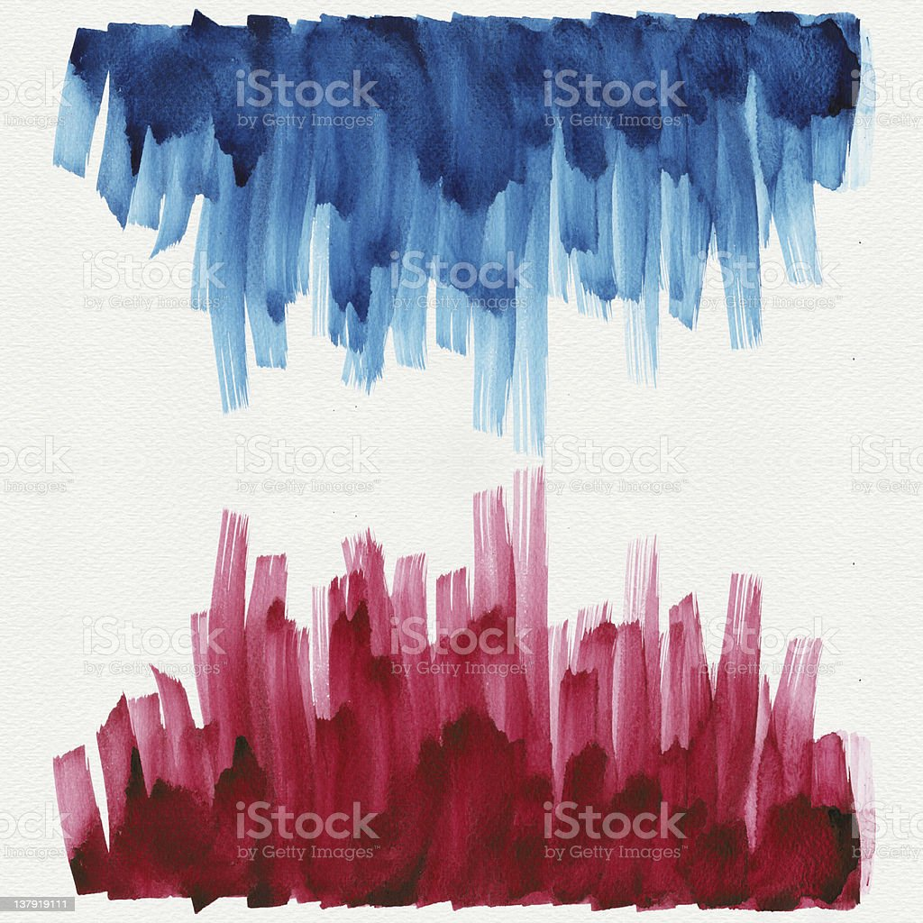 Abstract paint watercolors royalty-free stock photo