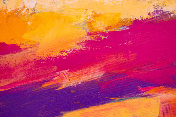 abstract painted art background - tempera painting stock pictures, royalty-free photos & images