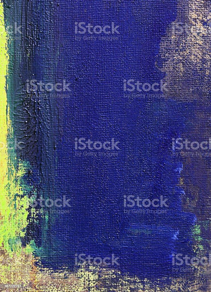 Astratto Dipinto Sfondo Blu E Verde Arte Fotografie Stock E Altre