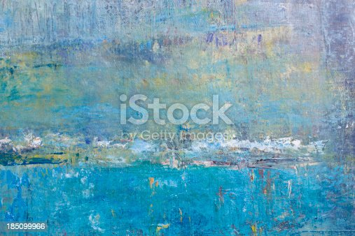 910798810 istock photo Abstract painted blue and green  art backgrounds. 185099966