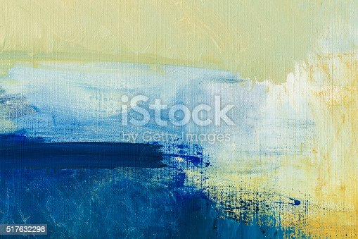 Abstract Illustration Of Yellow Red Green And Blue