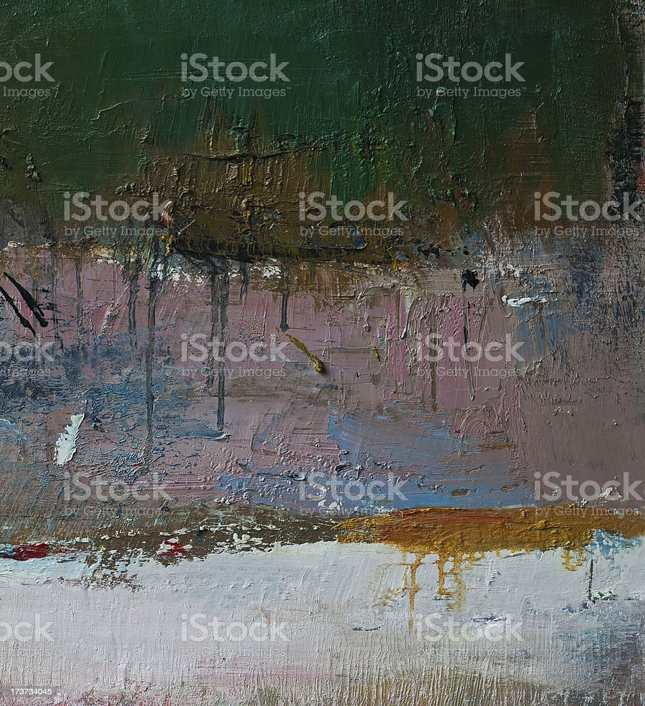 Abstract painted brown and black art backgrounds. royalty-free stock photo