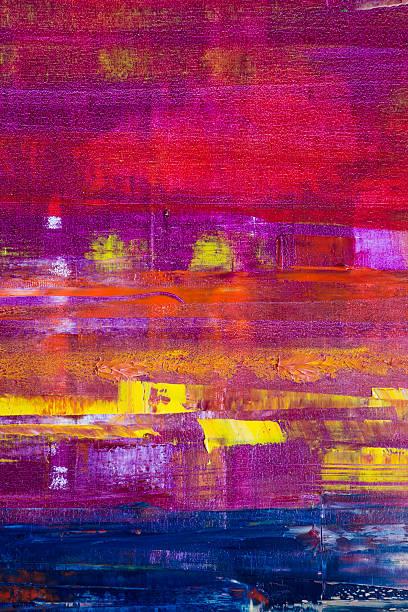 Abstract pintado lienzo. Aceite en una gama de pinturas - foto de stock