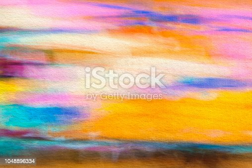 887755698istockphoto Abstract painted colored art background, pastel and watercolor 1048896334