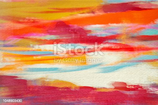 887755698istockphoto Abstract painted colored art background, pastel and watercolor 1048903430