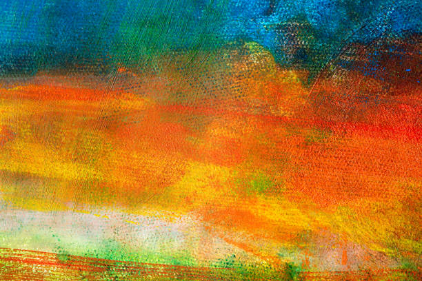 Abstract painted colored art backgrounds stock photo