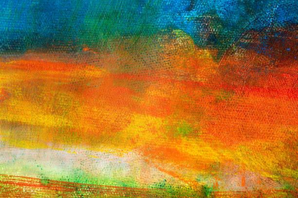 抽象畫彩色的藝術背景圖像檔