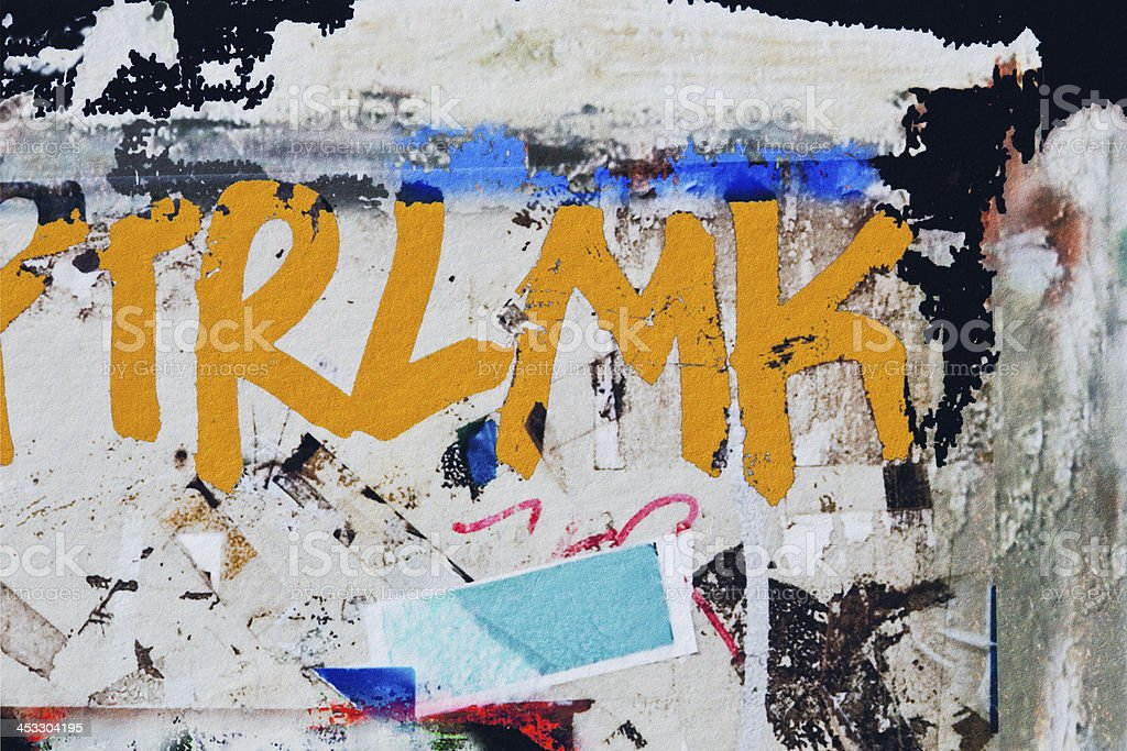 Abstract painted graffiti art backgrounds. royalty-free stock photo