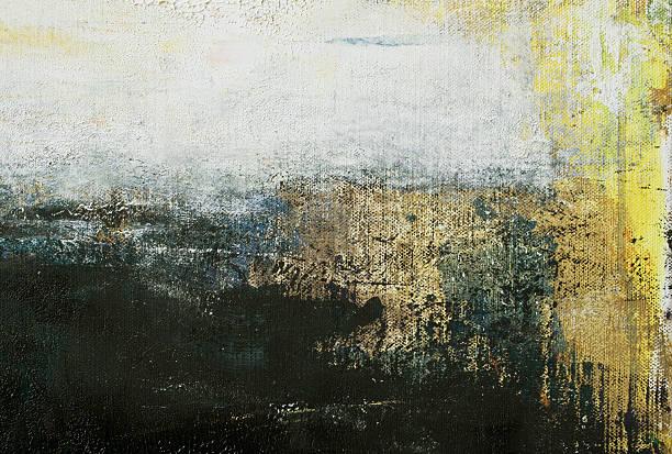 abstract painted grayed out art backgrounds. - yağlı boya resim stok fotoğraflar ve resimler