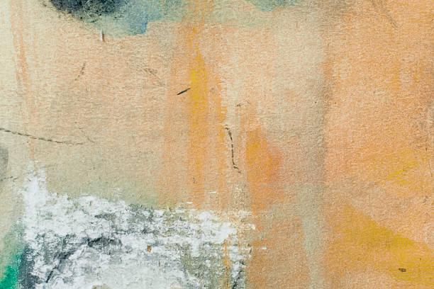 abstrakt gemalte ausgeblendet art hintergründe. - acrylbilder modern stock-fotos und bilder