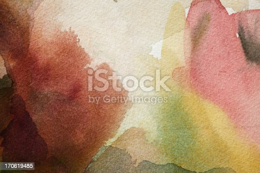 Abstract painted background texture.