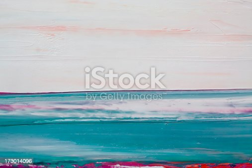 istock Abstract painted  green and pink art backgrounds. 173014096