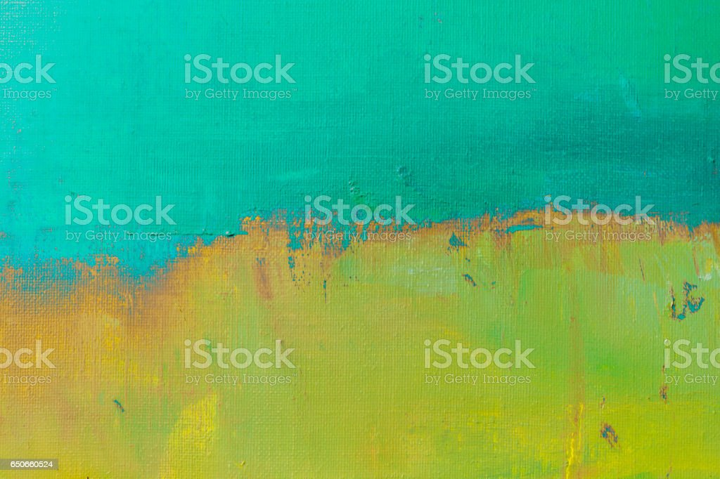 Abstract painted green and turquoise art backgrounds. stock photo