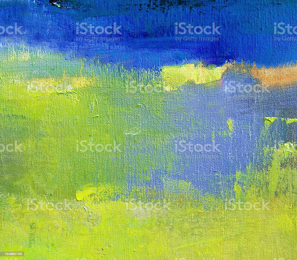Abstract Painted Green Art Backgrounds Stock Photo