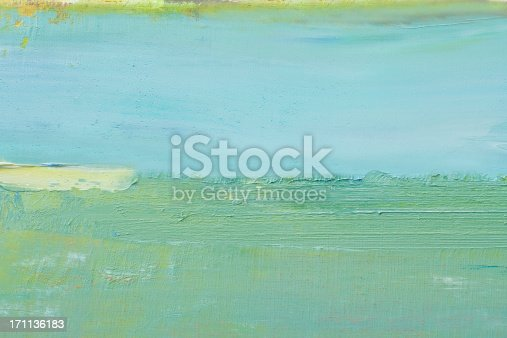 istock Abstract painted green art backgrounds. 171136183