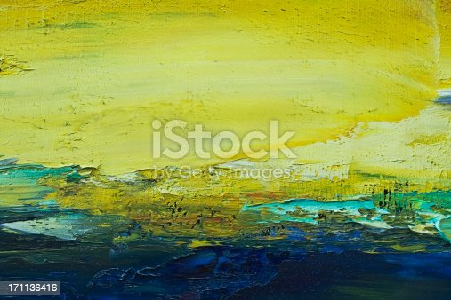 istock Abstract painted green art backgrounds. 171136416