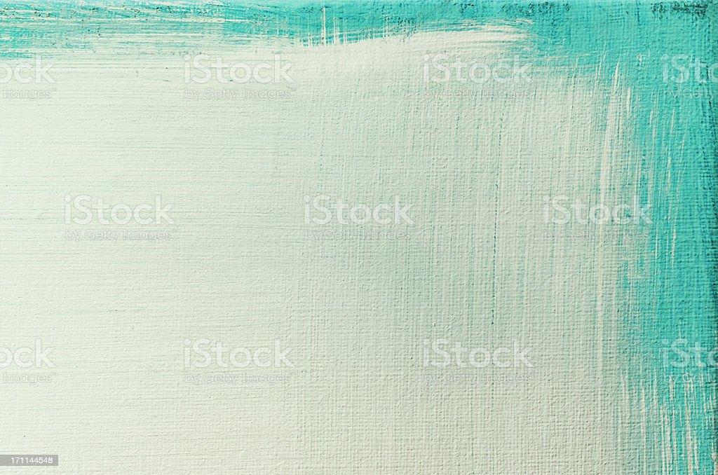 Verde abstrato Arte pintada de fundo. - fotografia de stock