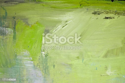istock Abstract painted green art backgrounds. 171145658